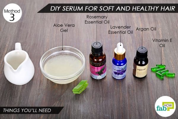How to use vitamin E oil to prepare DIY hair serum for soft and healthy hair
