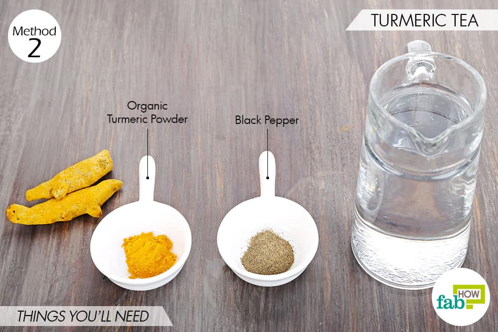 Things needed to use turmeric for psoriasis-to make turmeric tea
