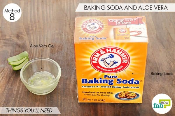 Things you'll need to use aloe vera and baking soda for acne