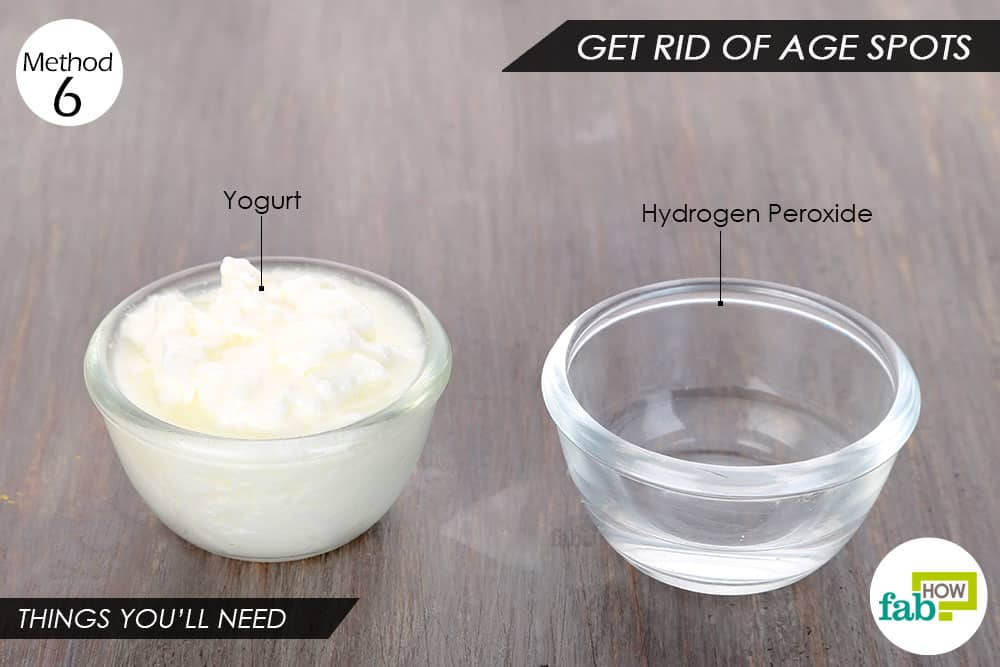 Things you'll need to use yogurt for hair and skin ageing