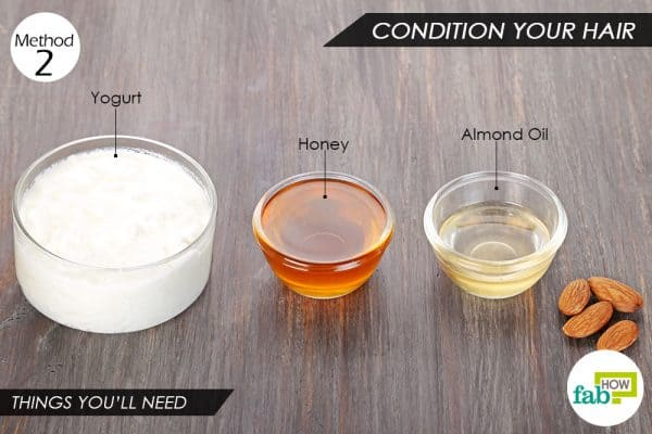 Things you'll need to use yogurt for hair conditioning and skin