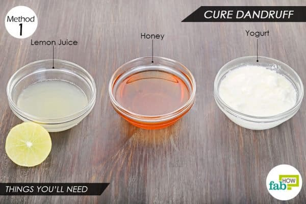Things you'll need to use yogurt for hair dandruff and skin