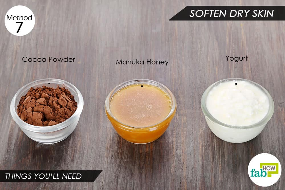 Things you'll need to use yogurt for hair and skin softening