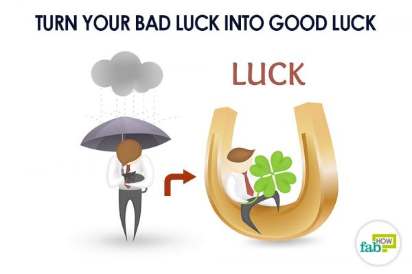 Learn from your mistakes to turn your bad luck into good luck