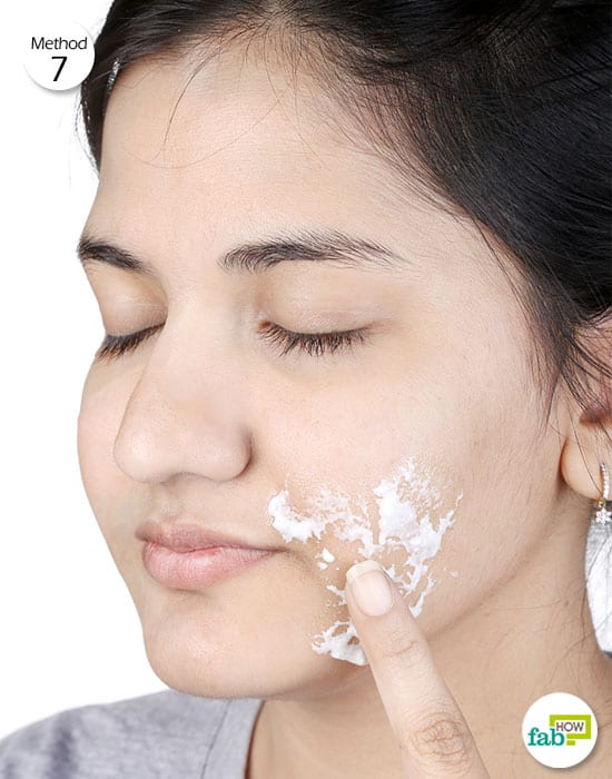 Use yogurt for health-to treat perioral dermatitis