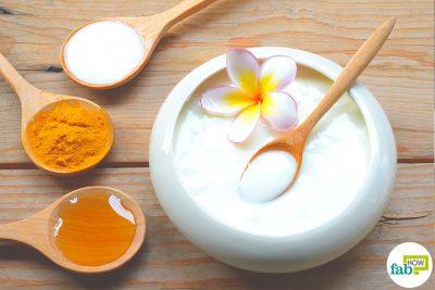 yogurt for skin and hair