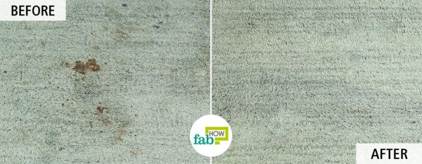Use borax for cleaning-to remove stains from carpet