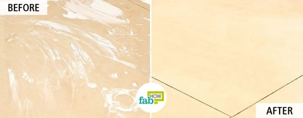 Use borax for cleaning floor