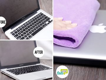 Learn how to clean Macbook
