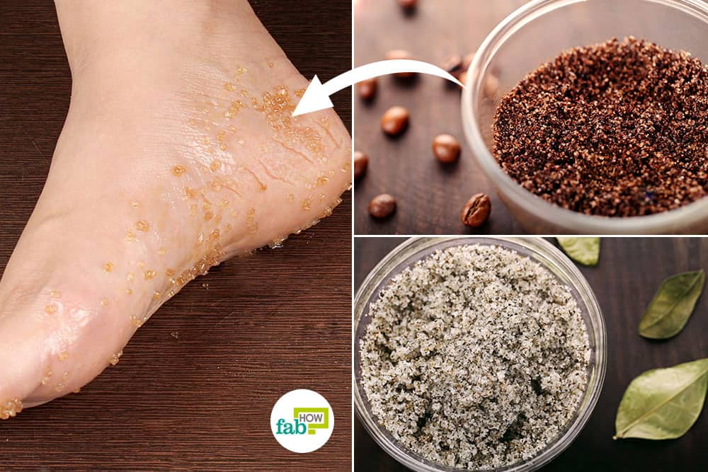 How to make DIY foot scrubs