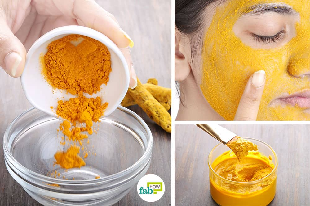 Use turmeric for beauty
