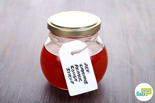 Store this homemade cough syrup in the refrigerator for 4 to 6 weeks