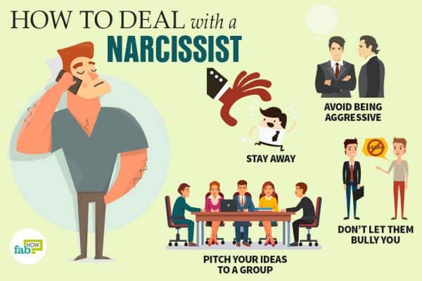 Learn how to deal with a narcissist the right way