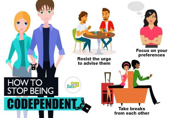 Follow these tips to stop being codependent