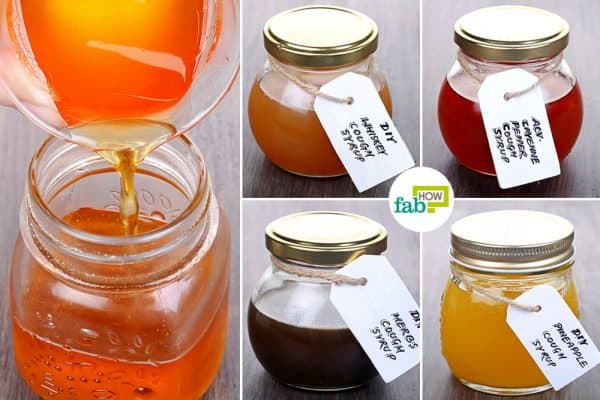 Try out our DIY cough syrup recipes