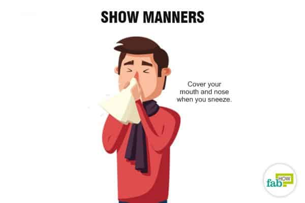 Show good manners to stop being annoying