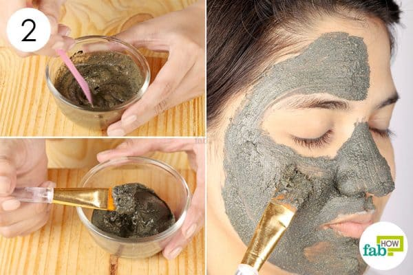 Mix properly and use as face pack to use activated charcoal for beauty