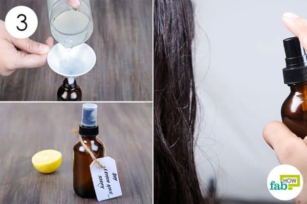 Transfer and store in a spray bottle and use as DIY hairspray