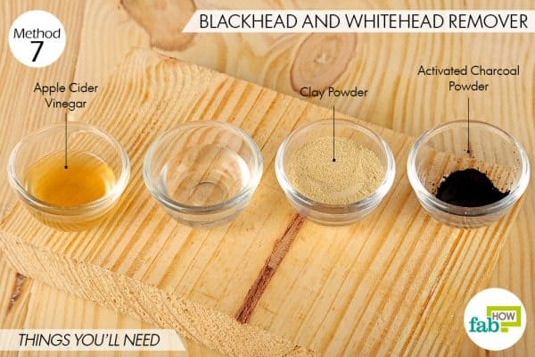 Things needed to use activated charcoal for beauty-to make blackhead and whitehead remover