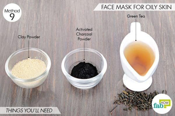 Things needed to use activated charcoal for beauty-to make face mask for oily skin