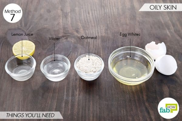 Things needed to use egg whites for health and beauty-for oily skin
