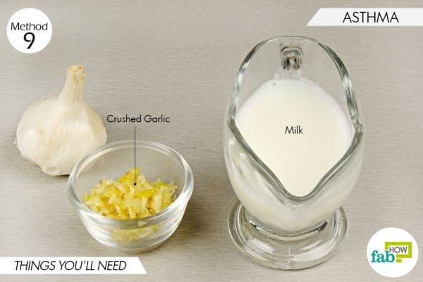 things needed to use garlic for health-asthma