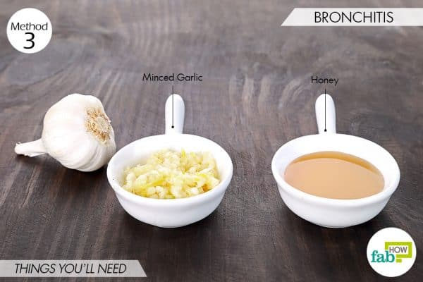 things needed to use garlic for health-bronchitis