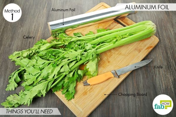 things needed to store celery