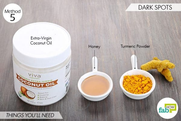 Use turmeric for beauty-to get rid of dark spots