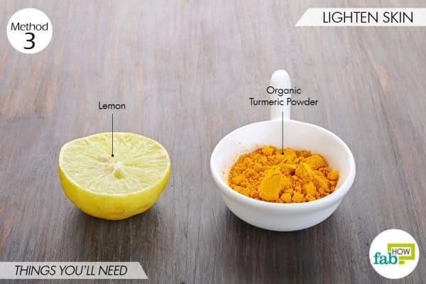 Use turmeric for beauty-to lighten skin