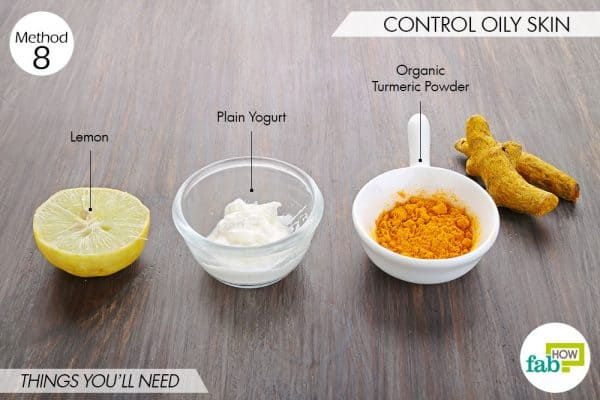 Use turmeric for beauty-to control oily skin