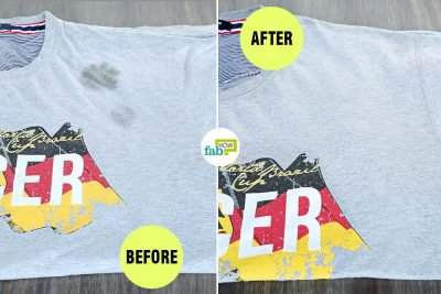 How to Remove Food Grease Stains from Your Clothes