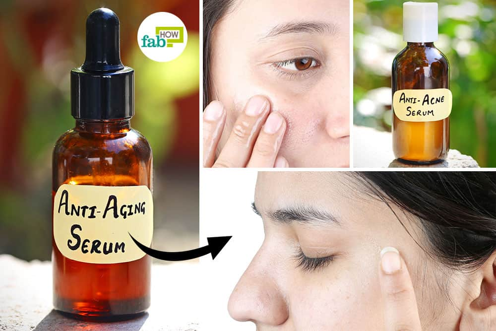 make DIY face serums