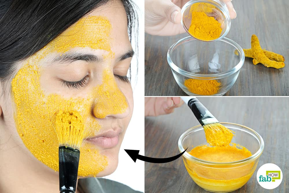 how to use turmeric for skin lightening