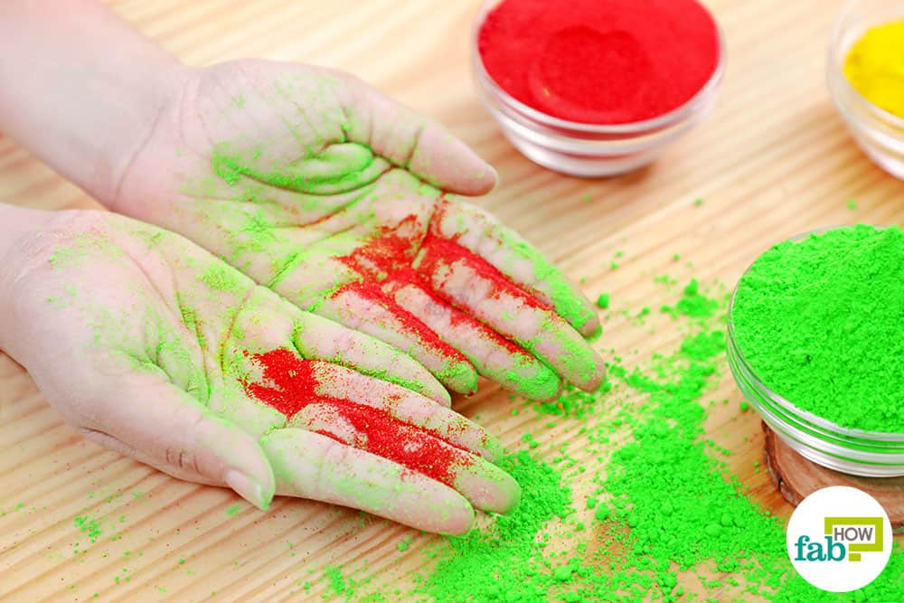 DIY Homemade Organic Holi Colors: 2 Tried-and-Tested Methods | Fab How