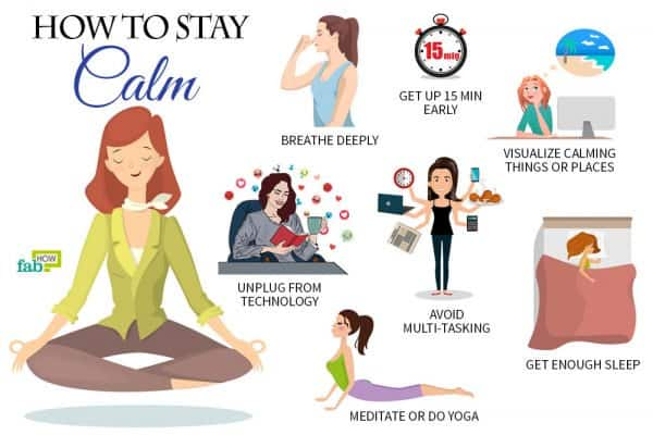 learn how to stay calm
