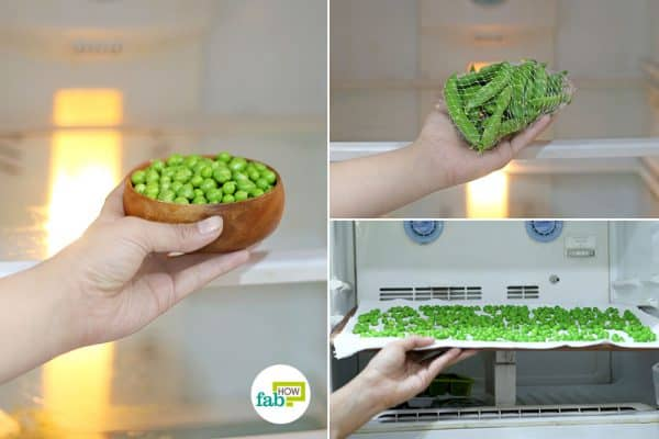 Learn how to store green peas the right way