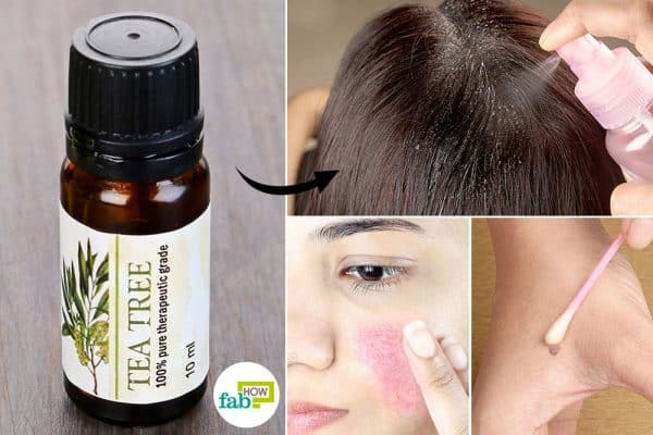 use tea tree oil for health