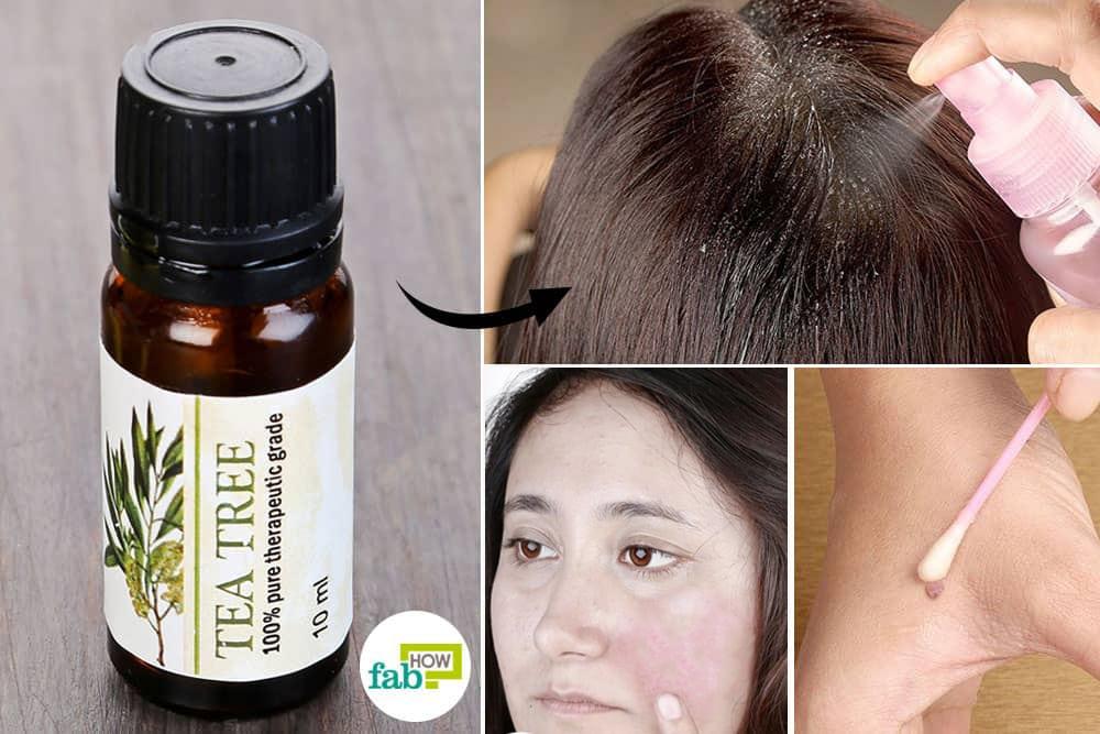use tea tree oil for health