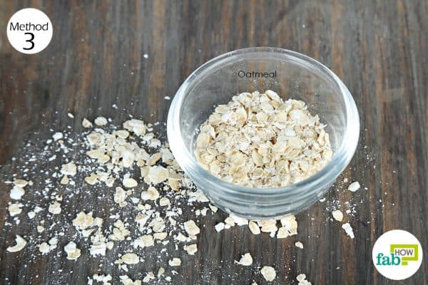use oatmeal for skin conditions-diaper rash