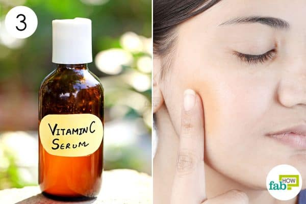 make your own DIY serum using vitamin C