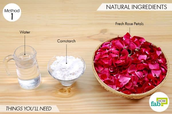 things you'll need to make DIY Holi colors using natural ingredients