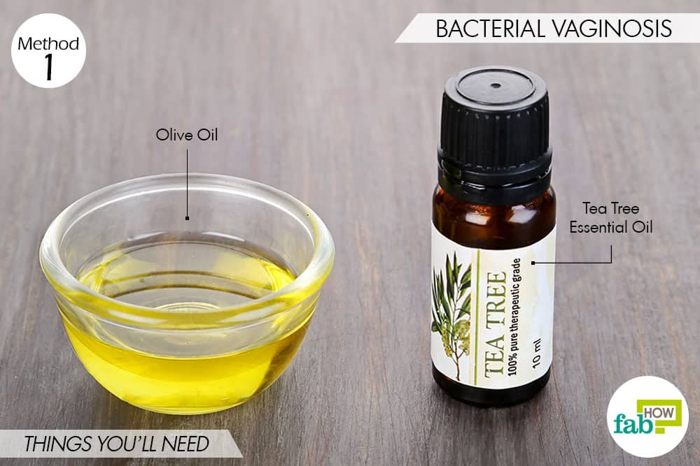 things needed to use tea tree oil for bacterial infections-to treat bacterial vaginosis