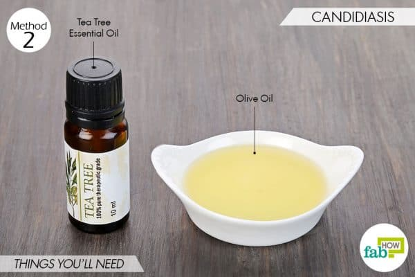 things needed to use tea tree oil for fungal infections-candidiasis