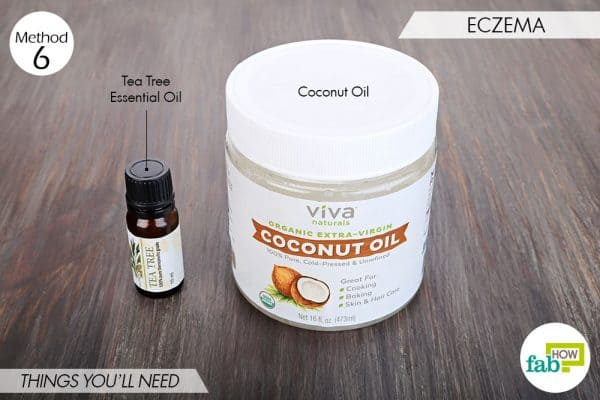 things needed to use tea tree oil for health-eczema