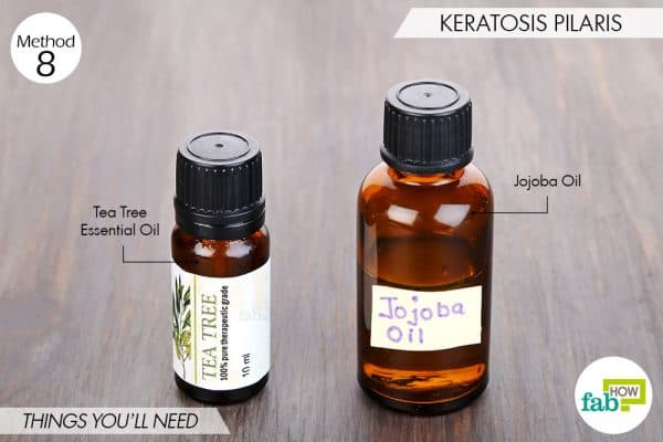 things needed to use tea tree oil for health-keratosis pilaris