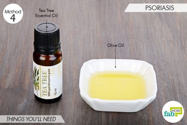 things needed to use tea tree oil for health-psoriasis