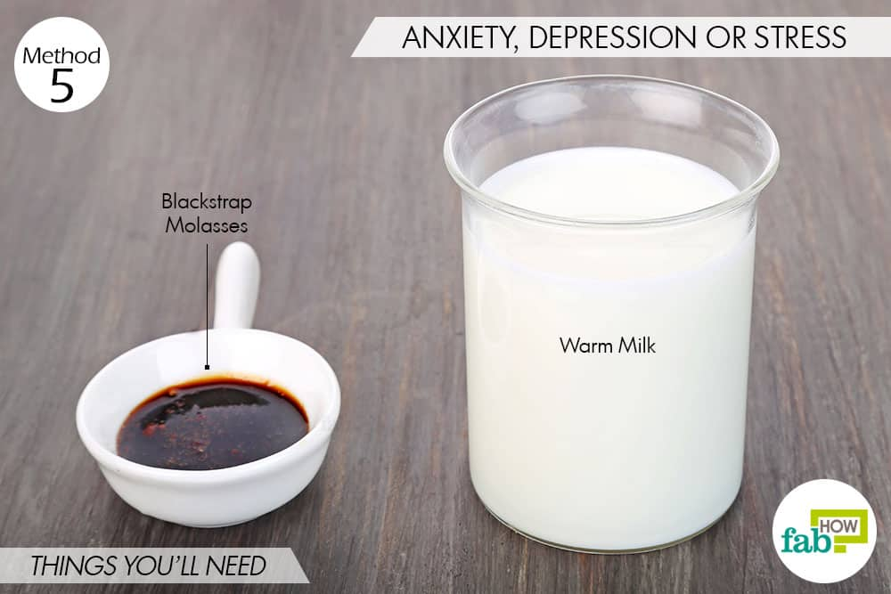 things needed to use blackstrap molasses for health- to treat anxiety, depression or stress