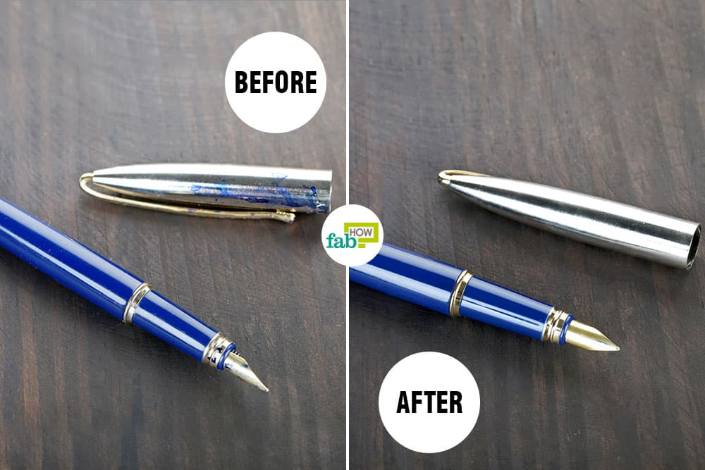 Clean your fountain pen regularly for smooth and lucid writing