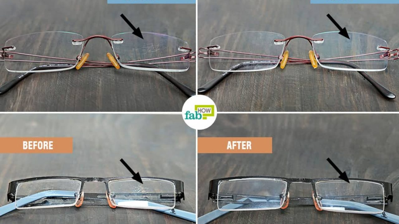 How To Remove Scratches From Glasses With Just 1 Ingredient Fab How
